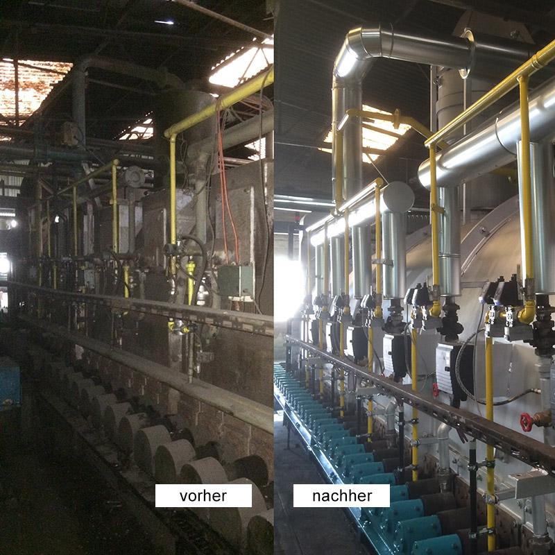 Modernisierung Thermoprozessanlagen